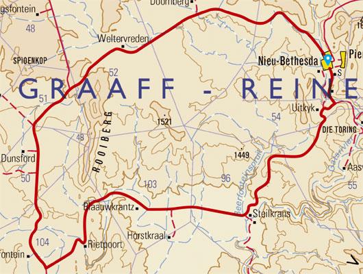 Rietpoort MTB route - Nieu Bethesda