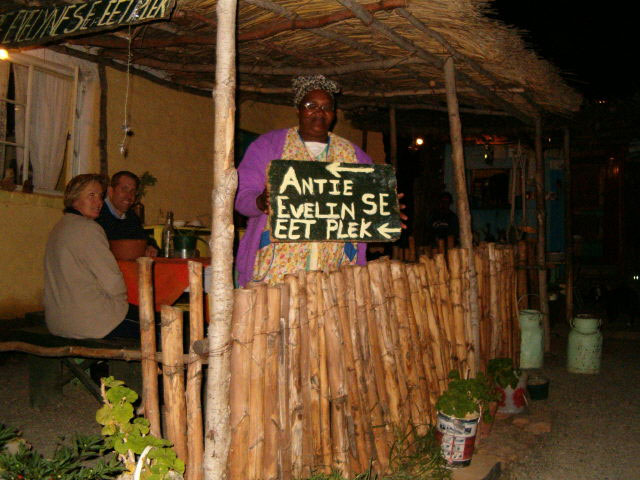 Aunty Evelyns restaurant Nieu Bethesda